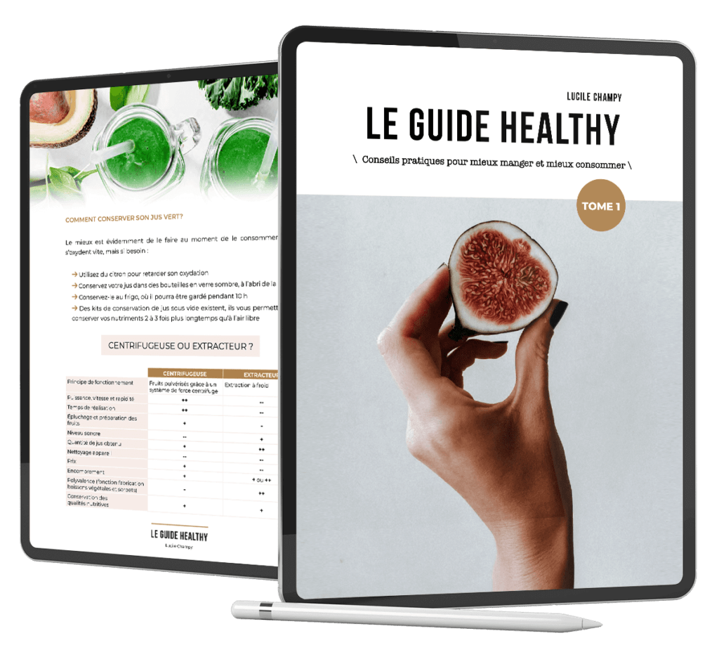 Le guide Healthy ebook Lucile Champy